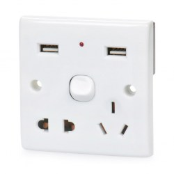 Receptacle-With-Usb-Power